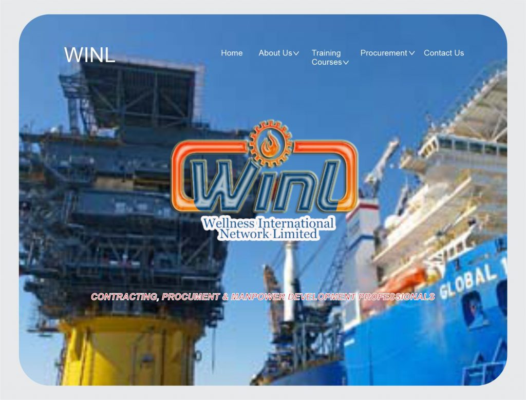 Web Design/Development for WINL Ltd